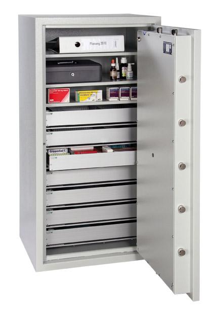 Wertschutzschrank Format Topas Pro 50 EN 1143-1 Klasse 2BTM- Sondereinrichtung gegen Aufpreis