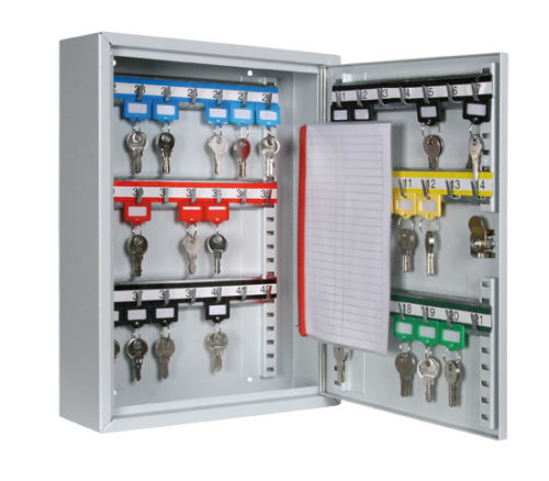 Schlüsselkassette 42 RAL 5011 - 01
