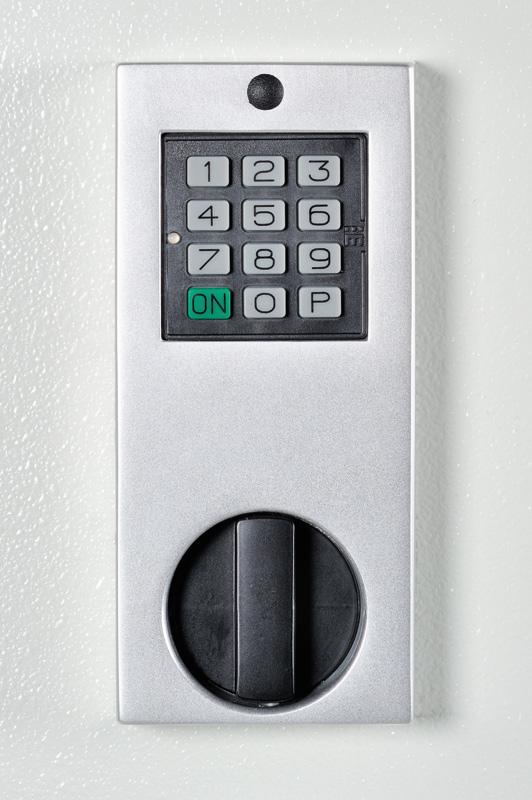 Elektronisches Codeschloß Mauer Code Combi B (mit Mechanischer Revision) anstatt serienmäßigem DSS gegen Aufpreis
