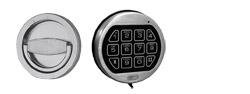 Elektronisches Zahlenschloss LG 39 E gegen Aufpreis (anstatt DSS)