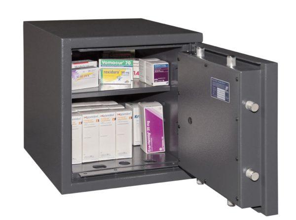 Wertschutztresor Format Lyra 2 EN 1143-1 Klasse 0/N,für Betäubungsmitteln.02
