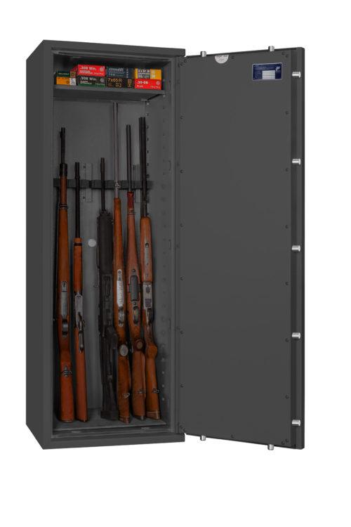 Waffenschrank Format CORVINO 4 - 8 WF Halter EN 1143-1 Klasse 1